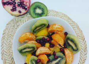 Homemade Exotic Fresh Fruit Salad