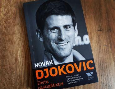 "Novak Djokovic's book - ""Serve to Win"" - ambition, training and a gluten free diet"