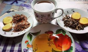 Dandelion Root, Tulsi and Ginger Tea Helps the Liver and in Gynaecological Problems