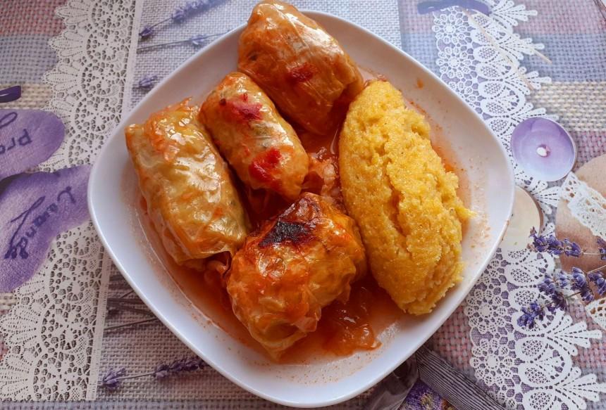 Fish Stuffed Cabbage Rolls