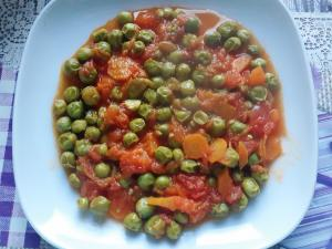 Green Peas with Vegetables