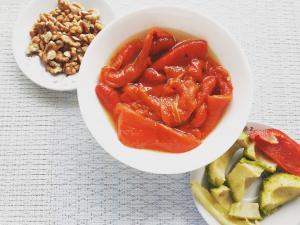 Roasted Peppers Salad