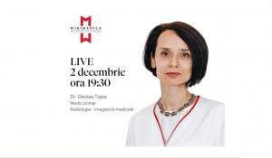 Despre investigatiile necesare in endometrioza – Wikimedica by Regina Maria, cu Dr. Denisa Tisea