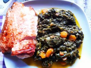 Salmon and Spinach Recipe